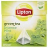 LIPTON 20BG GREEN MINT PYRAMID TEA