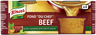 KNORR 4X28G FOND DU CHEF BEEF FOND
