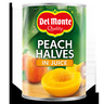 DEL MONTE 415G PEACH HALVES IN JCE