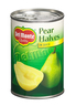 DEL MONTE 415G PEAR HALVES IN JUICE
