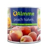 ALMME 2,6/1,45KG PEACH HALVES IN SYRUP