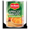 DM 420/240G APRICOT HALVES SUGARP