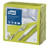 TORK 100PCS/39CM SOFT 3PLY LIME NAPKIN
