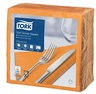TORK 100PCS/39CM SOFT 3PLY ORANGE NAPKIN