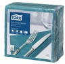 TORK 100/39 NAPKIN BLUE GREEN 1/4