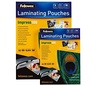 FELLOWES LAM.POUCH A4 100MIC /100