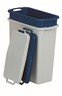 INGREDIENT BIN WIHT LID 60L GRAY