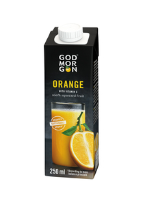 GOD MORGON CLASSIC ORANGE JUICE 100% 250 ML