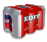 KOFF LITE 33CL CAN 6P 4,4% BEER